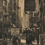 Galen Perrett (American, 1875-1949) The Shoe Repairers, Boston (Lot 1023, Estimate $200-$400)