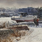 Donald Stone (American, 1929-2015) Winter Storage (Lot 1107, Estimate $700-$900)
