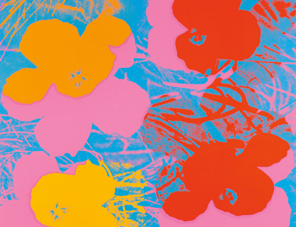 Andy Warhol (American, 1928-1987)  Flowers/A Portfolio of Ten Works, Suite of 10 screenprints 1970 ($400,000-$600,000)