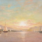 Francis Augustus Silva (American, 1835-1886)  Hudson River View, probably at Tappan Zee or Haverstraw Bay (Lot 242, Estimate $15,000-$20,000)