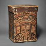 Large Northwest Coast Kerf Bent Box, c. 19th century (Lot 210, Estimate $12,000-$16,000)