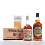 Springbank Local Barley 32 Years Old 1966, Campbeltown (Estimate: $1,300-1,700) + Springbank Local Barley 36 Years Old, Campbeltown (Estimate: $1,200-1,500)