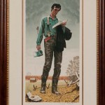 Norman Rockwell (American, 1894-1978) Young Lincoln, 1976 (Estimate: $1,000-1,500)